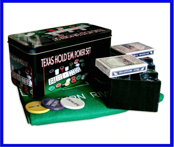 Набор Для Покера на 200 фишек и Игровым Сукном