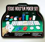 Набор Для Покера на 200 фишек и Игровым Сукном, фото 4