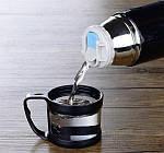 Металлический Термос 500ml с Чашкой, фото 9