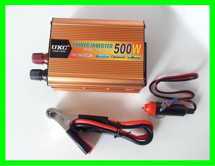 Перетворювач 500W Інвертор з 12в на 220в