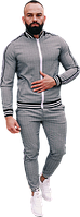 Спортивный костюм Джентльмены (премиум-класс) серый