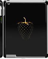"Чехол на Apple iPad 2/3/4 Черная клубника ""3585c-25-44864"""