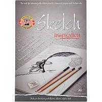 Альбом для скетчей Koh-I-Noor А4 110 г/м2 20 л (992016)