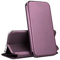 Чехол-книга 360 STANDARD Samsung A20S бордовый