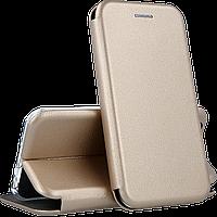 Чехол-книга 360 STANDARD Xiaomi Redmi 9c золотой