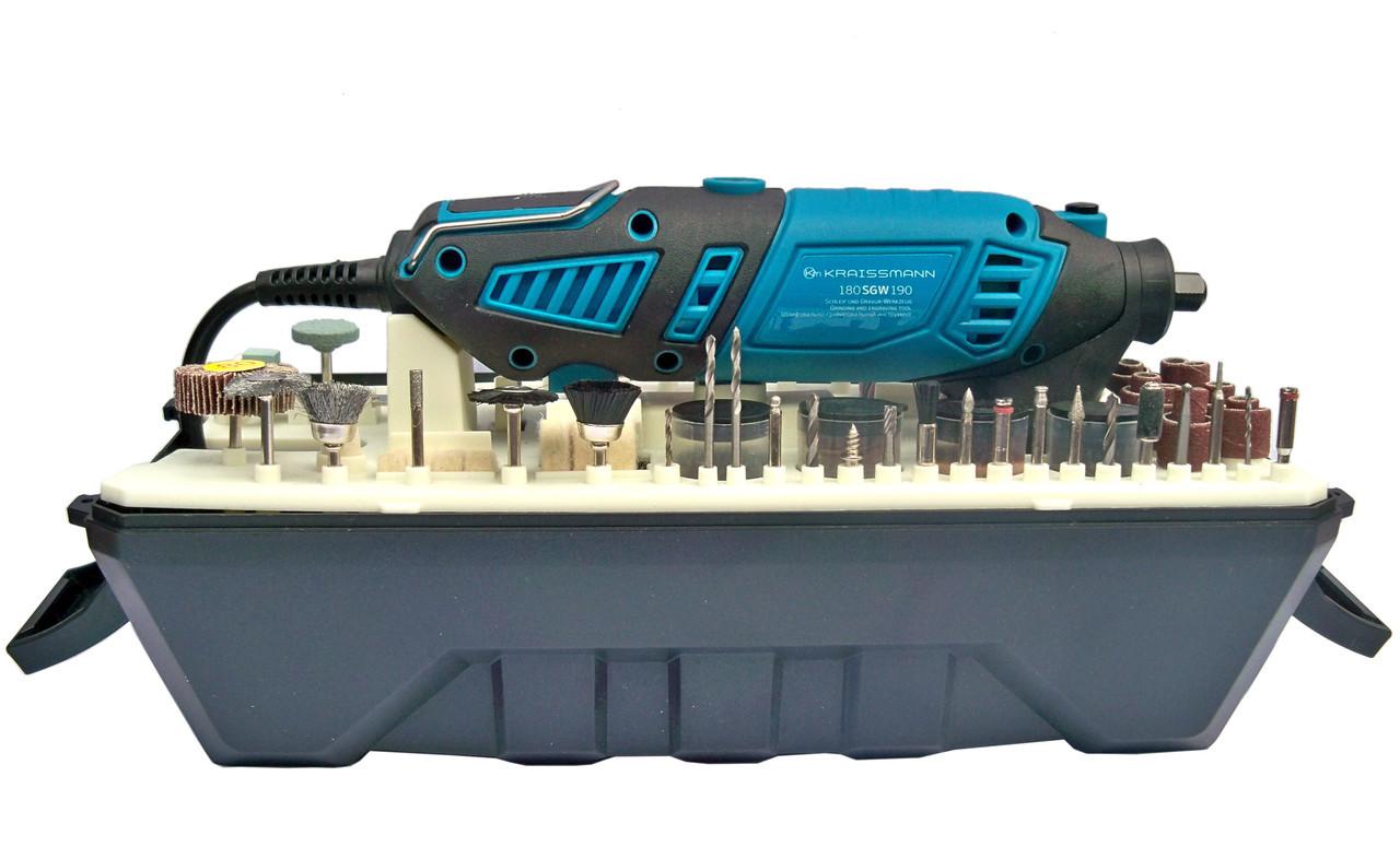 Шлифовально-гравировальный инструмент KRAISSMANN 180 SGW 190