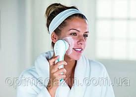 Щетка для умывания чистки лица Spin Spa Spin Spa Cleansing Facial Brush