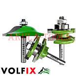 Комплект фрез VOLFIX GRAND d8 из 3х шт для мебельной обвязки с филенкой, фото 4