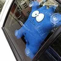 """Іграшка в машину """"Кіт Саймона"""" синій 32 см"""