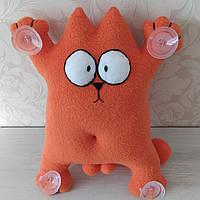 """Іграшка в машину """"Кіт Саймона"""" помаранчевий 32 см"""