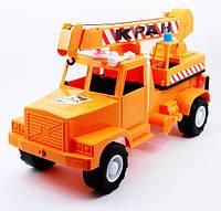 Игрушечная машинка автокран муссон орион (252)