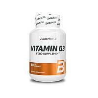Витамин Д3 BioTech Vitamin D3 60 таб