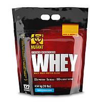 Концентрат сывороточного протеина (белка) Mutant Whey 4,5 кг