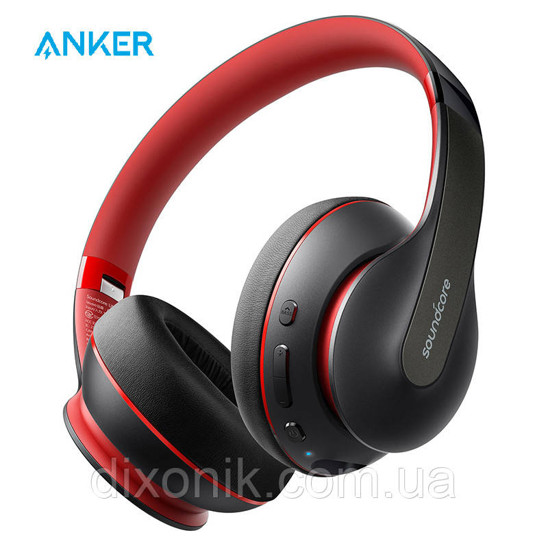 Бездротові навушники Anker Soundcore Life Q10 black-red Bluetooth навушники з блютузом