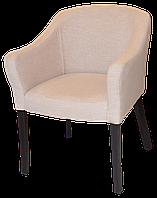 Мягкий стул с подлокотниками из массива бука. Кресло для дома, кафе и ресторанов. МГ-240е