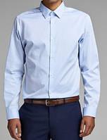 Дания Размер S Хлопковая мужская рубашка Jack&Jones Мужская рубашка с длинным рукавом