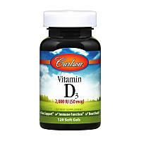 Витамин Д3 Carlson Labs Vitamin D3 2000 IU 120 гел капс