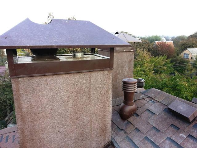 Организация вентиляции для дома с использованием существующих кирпичных вентиляционных шахт.