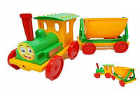 Игрушка поезд-конструктор фламинго-тойс (013117)