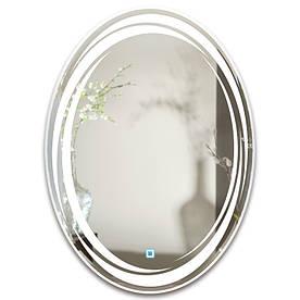 Зеркало овальное с LED подсветкой SmartWorld Koriza 50x80x3 см (1037-d2-50x80x3)