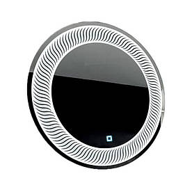 Зеркало круглое с LED подсветкой SmartWorld Mavita 120x120x3 см (1033-d8-120x120)