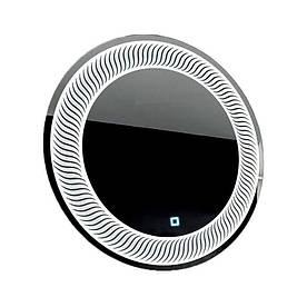 Зеркало круглое с LED подсветкой SmartWorld Mavita 100x100x3 см (1033-d6-100x100)