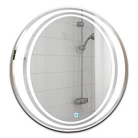 Зеркало круглое с LED подсветкой SmartWorld Sana 100x100x3 см (1034-d7-110x110)