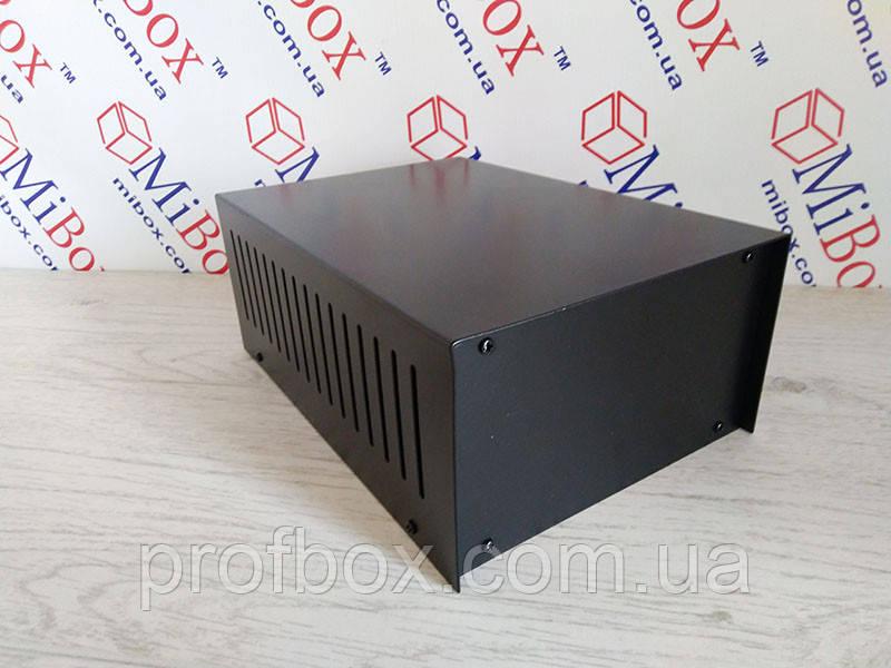 Уцінка. Корпус металевий, модель MB-45 (Ш155 Г220 В90) чорний, RAL9005(Black)