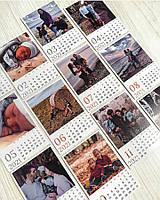 Календар з фото по місяцях магніт