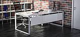 Стол рабочий двухцветный Quattro 1200*600*740h, фото 4