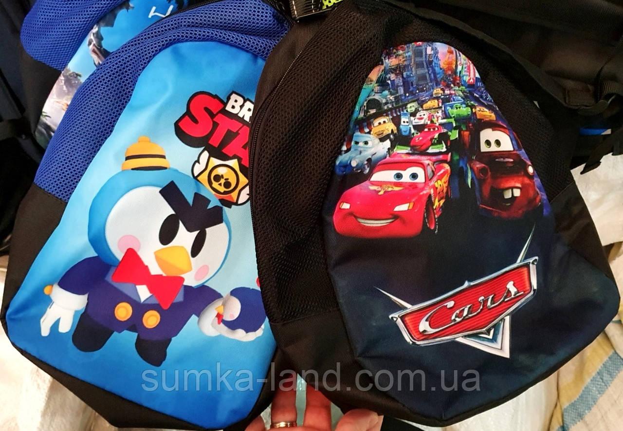 Детские рюкзаки Brawl Stars для мальчиков 23*33 см