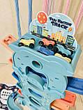 Автотрек спуск з машинками 589-44, фото 6