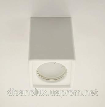 Світильник Стельовий Світильник PL-08 GU5.3 L82мм*Н110мм (білий)