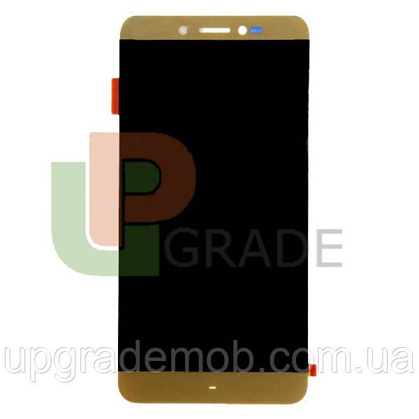 Дисплей Prestigio MultiPhone PSP5530 Duo Grace Z5 с тачскрином модуль сенсор, золотистый