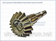 Вал первинний 25ФМ.37.102 Z=18 коробки передач Т-25Ф, Т25ФМ, Т-ХТЗ 2511
