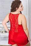 Комплект для сну жіночий К1104п XXL+ Червоний, фото 2