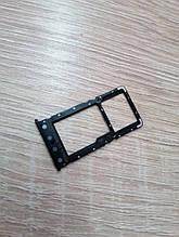 Сим-лоток для Xiaomi Redmi 6 / 6A Чёрный