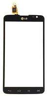Тачскрин / сенсор (сенсорное стекло) для LG G Pro Lite D685 D686 (черный цвет)