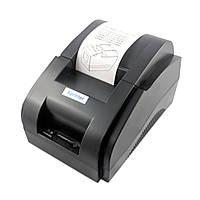 Термопринтер чеков Xprinter XP-58IIH (POS-5890) USB (для печати чеков на кассовой ленте)
