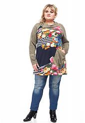 Туника женская большие размеры от 64 до 72