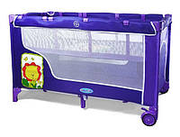 Манеж детский baby tilly фиолетовый (bt-016-slc)