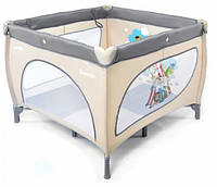 Манеж детский Baby Tilly Carrello GRANDE серый (CRL-7401)