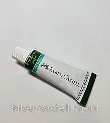 Краска масляная Faber-Castell Creative Studio, цвет насыщенный зеленый, металлический туб 12 мл
