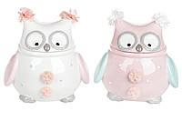 """Керамическая банка """"Owl Family"""" 400мл 834-840"""