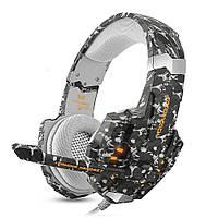 Геймерські навушники Kotion Each G9600 з підсвічуванням (Чорний)