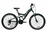 """Велосипед 26"""" Formula ATLAS Vbr 2020 (черно-зеленый)"""