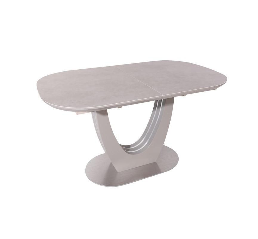 Стол ТМL-865 (Серый Топаз) 1400(+400)*850