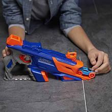 Бластер з двома машинками. Іграшкова дитяча зброя з мішенню