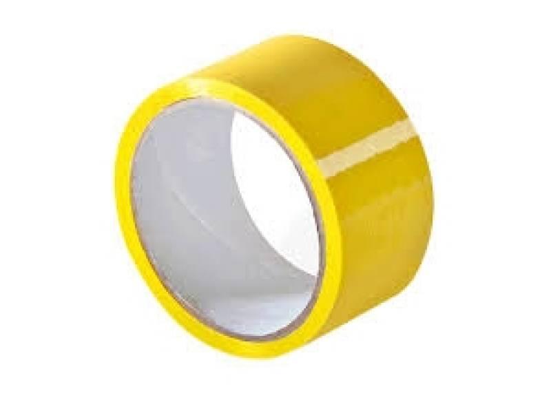 Стрічка клейка пакувальна (скотч) зелена, 48мм*50м Україна ( 3330011)