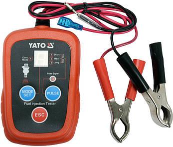 Електронний тестер форсунок для бензинових двигунів YATO YT-72960, фото 2